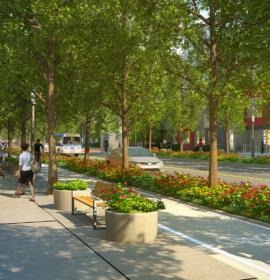 Blatchford West street design