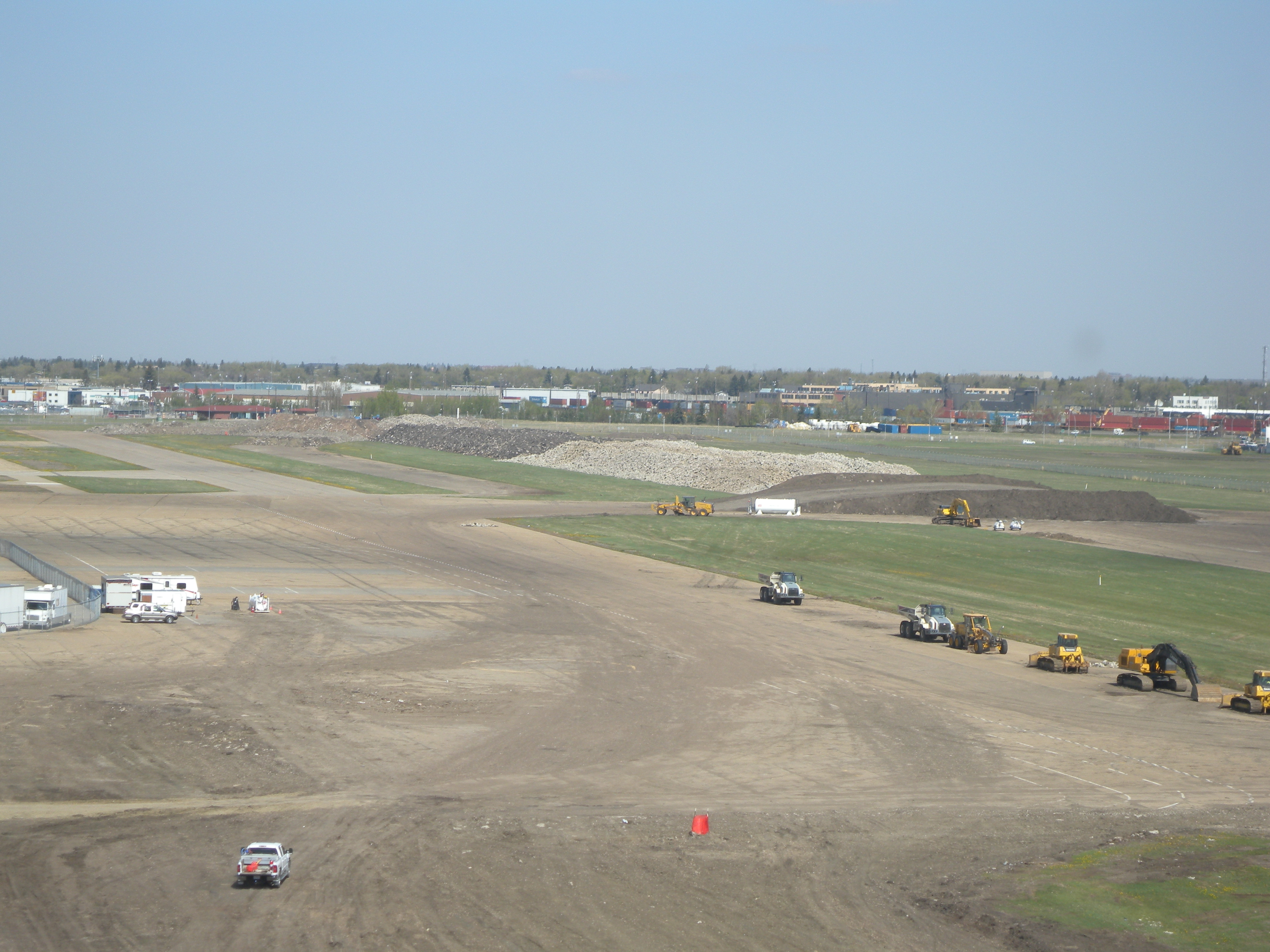 Blue apron edmonton - Approximately 1 3 Of The Runways And Taxiways Have Been Removed And Stockpiled At The Site The Materials Concrete Asphalt And Gravel Will Eventually Be
