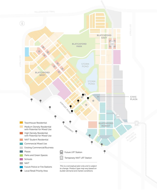 Map of LRT